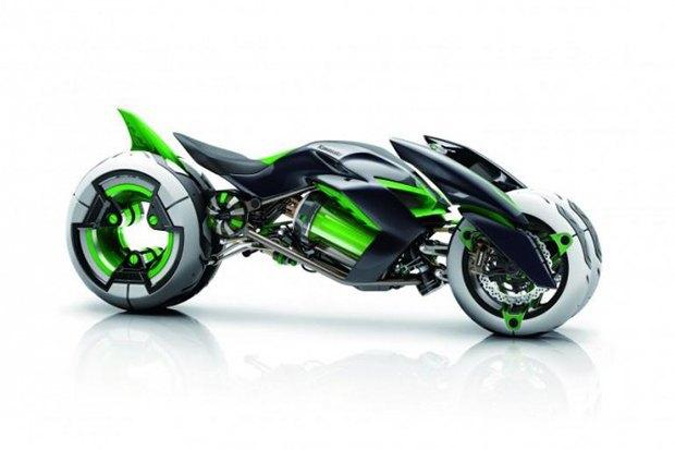 Kawasaki представили новый мотоцикл-трансформер. Изображение № 11.