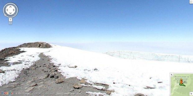 При помощи Google Street View теперь можно побывать на Килиманджаро, Эвересте и других вершинах. Изображение № 5.