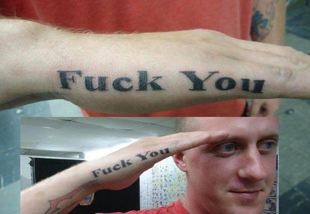 В американской армии могут запретить татуировки. Изображение № 1.