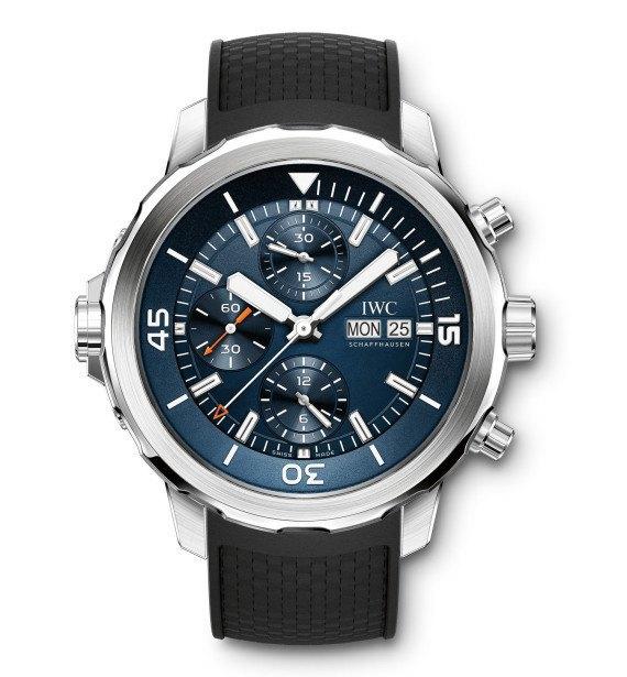 Марка IWC выпустила часы для дайверов в честь Жак-Ива Кусто. Изображение № 2.