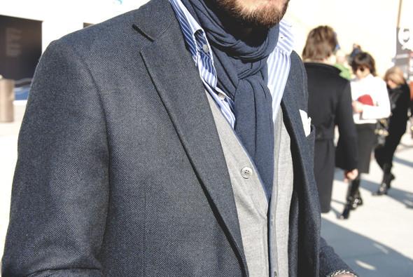 Детали: Репортаж с выставки мужской одежды Pitti Uomo. День первый. Изображение № 35.
