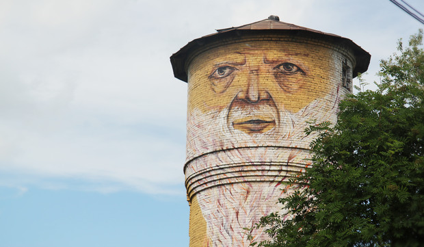 Скетчбук: Уличный художник Nomerz рассказывает о своих избранных работах. Изображение № 6.