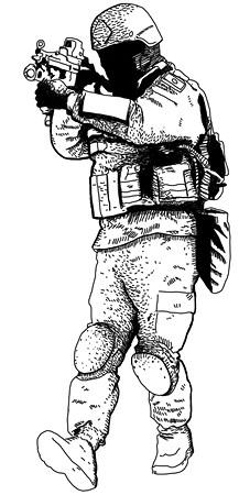 Прирожденные убийцы: Военная подготовка и оружие пяти самых сильных армейских подразделений мира. Изображение № 15.