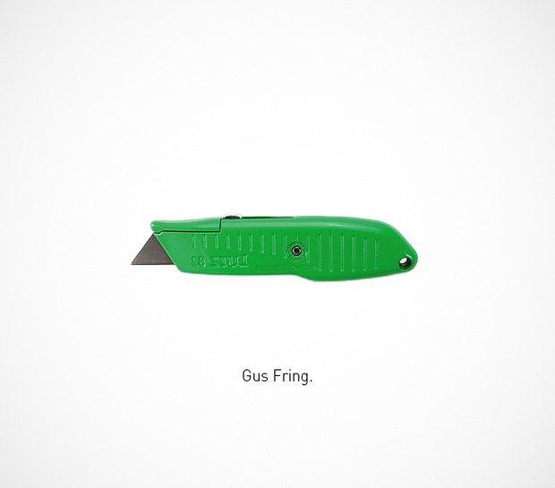 Итальянский дизайнер представил коллекцию ножей знаменитых персонажей. Изображение № 46.