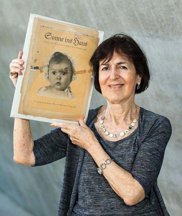 На портрете «идеального маленького арийца» была изображена еврейская девочка. Изображение № 1.