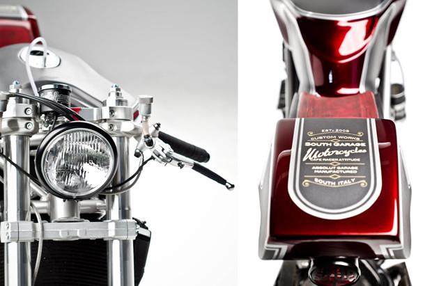 Каферейсер Ducati 749 мастерской South Garage. Изображение № 2.
