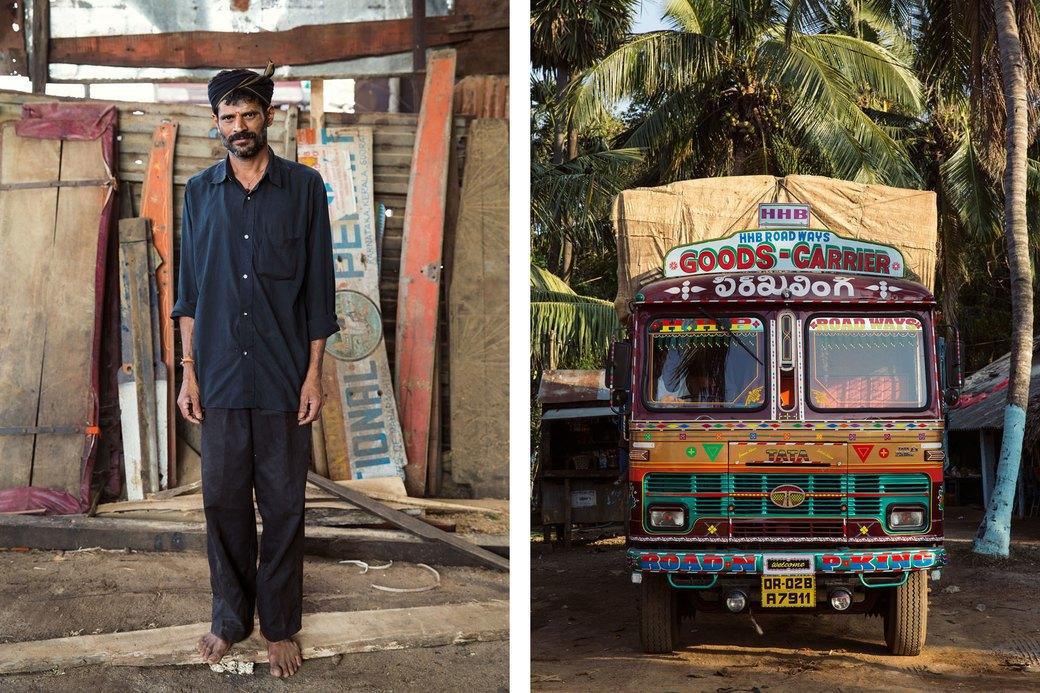 Я и друг мой грузовик: Индийские дальнобойщики и их автомобили. Изображение № 16.