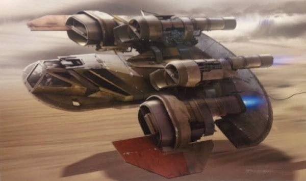 В сеть слили концепт-арт седьмого эпизода «Звёздных войн». Изображение № 11.