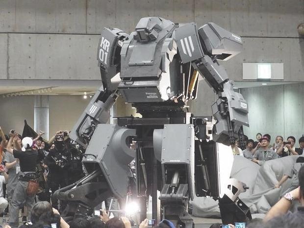 В Японии произвели четырехметрового боевого робота. Изображение № 3.