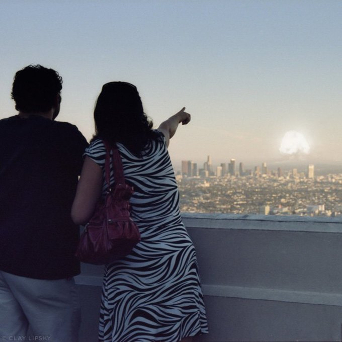 Atomic Overlook: Атомный взрыв как туристический объект на фото Клэя Липски. Изображение № 9.