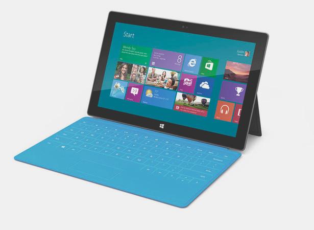 Компания Microsoft представила новый планшетный компьютер Surface Tablet . Изображение № 1.