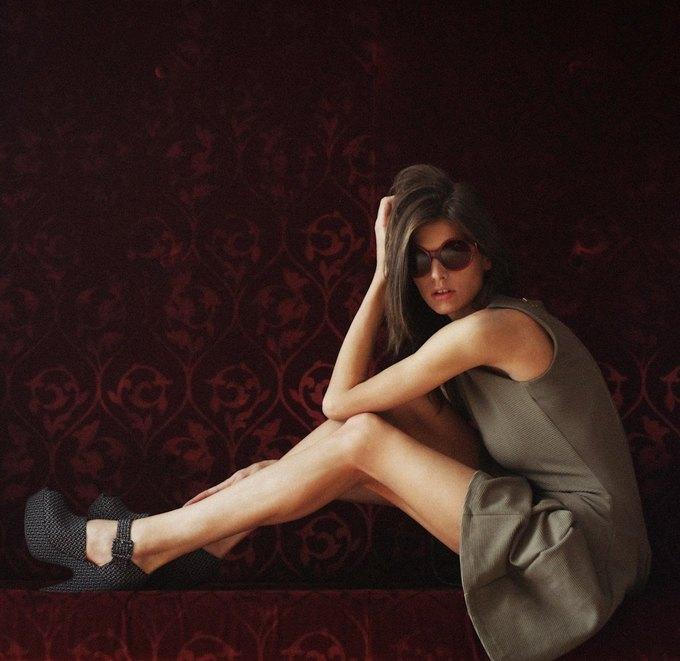 Российская модель Даша Малыгина снялась для журнала Purple. Изображение № 4.