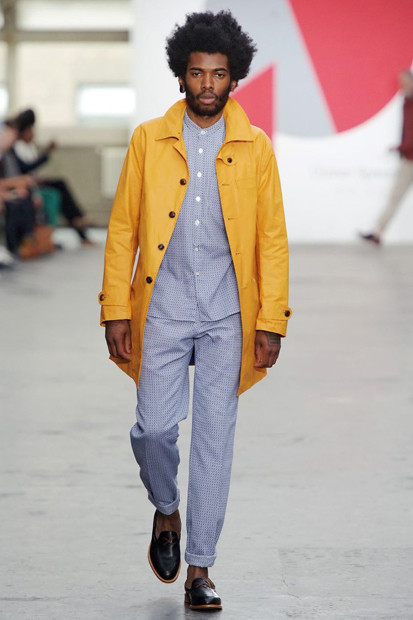 Марка Oliver Spencer выпустила летнюю коллекцию одежды. Изображение № 11.
