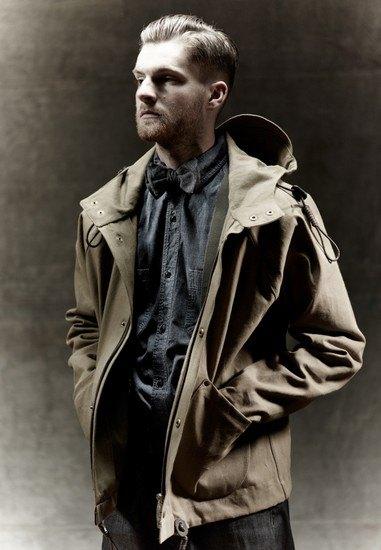 Марка Nigel Cabourn выпустила лукбук осенней коллекции одежды. Изображение № 11.