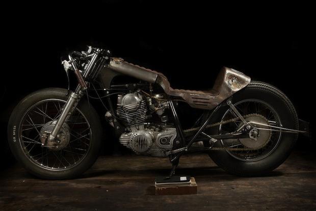 Испанская мастерская El Solitario изготовила мотоцикл Winning Loser. Изображение № 1.