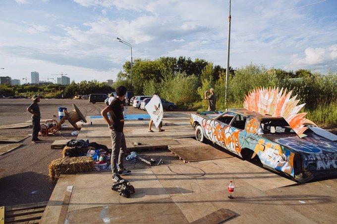 Фоторепортаж: Строительство объектов фестиваля Outline. Изображение № 89.