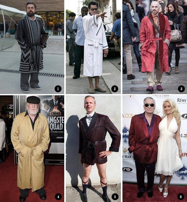 Изумительный плейбой: Как носить халат в публичном месте. Изображение № 2.