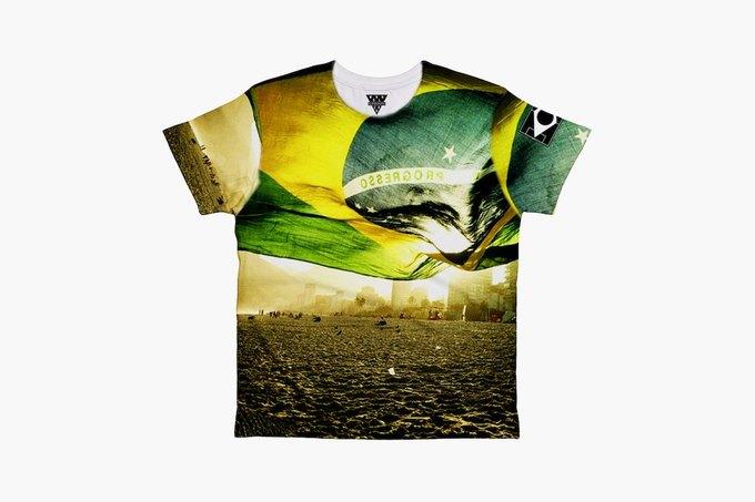Марка Eleven Paris к чемпионату мира по футболу представила коллекцию футболок. Изображение № 11.