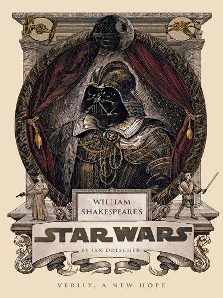 Американский писатель переделал сценарии «Звёздных войн» на манер Шекспира. Изображение № 2.