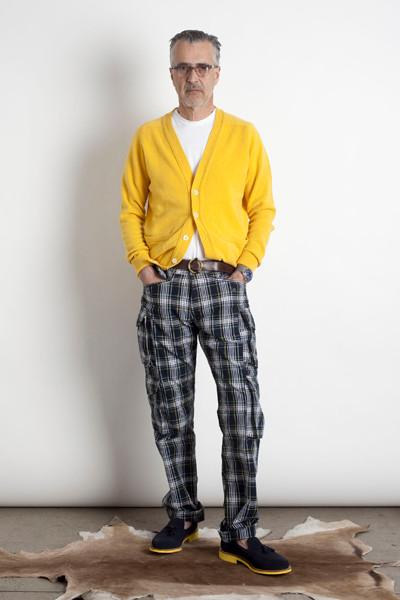 Дизайнер Марк МакНейри выпустил лукбук осенне-зимней коллекции одежды. Изображение № 5.