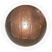 Находка недели: Винтажный футбольный мяч. Изображение № 6.