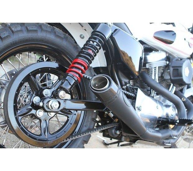 Мастерская Burly Brand представила скрэмблер на основе Harley-Davidson Sportster. Изображение № 17.