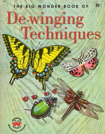 Иллюстратор Боб Стэйк создал пародии на обложки старых детских книжек   . Изображение № 23.