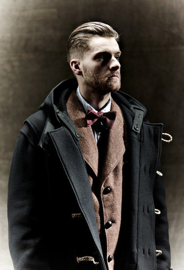 Марка Nigel Cabourn выпустила лукбук осенней коллекции одежды. Изображение № 7.