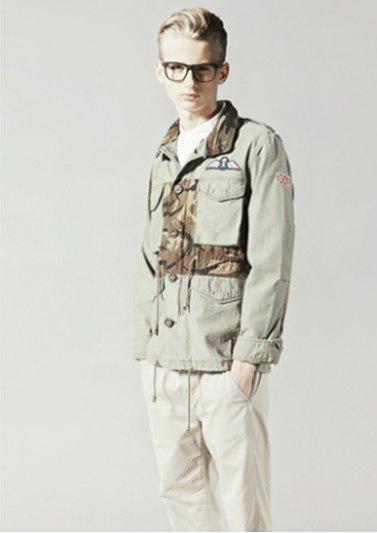 Марка Neighborhood опубликовала лукбук весенней коллекции одежды своей линейки Luker. Изображение № 5.