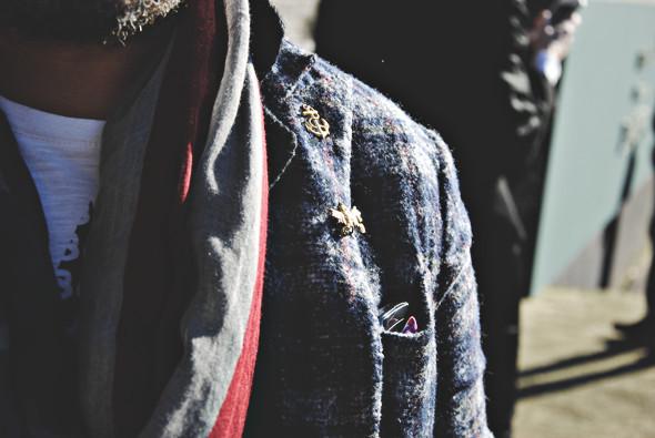 Детали: Репортаж с выставки мужской одежды Pitti Uomo. День второй. Изображение № 4.