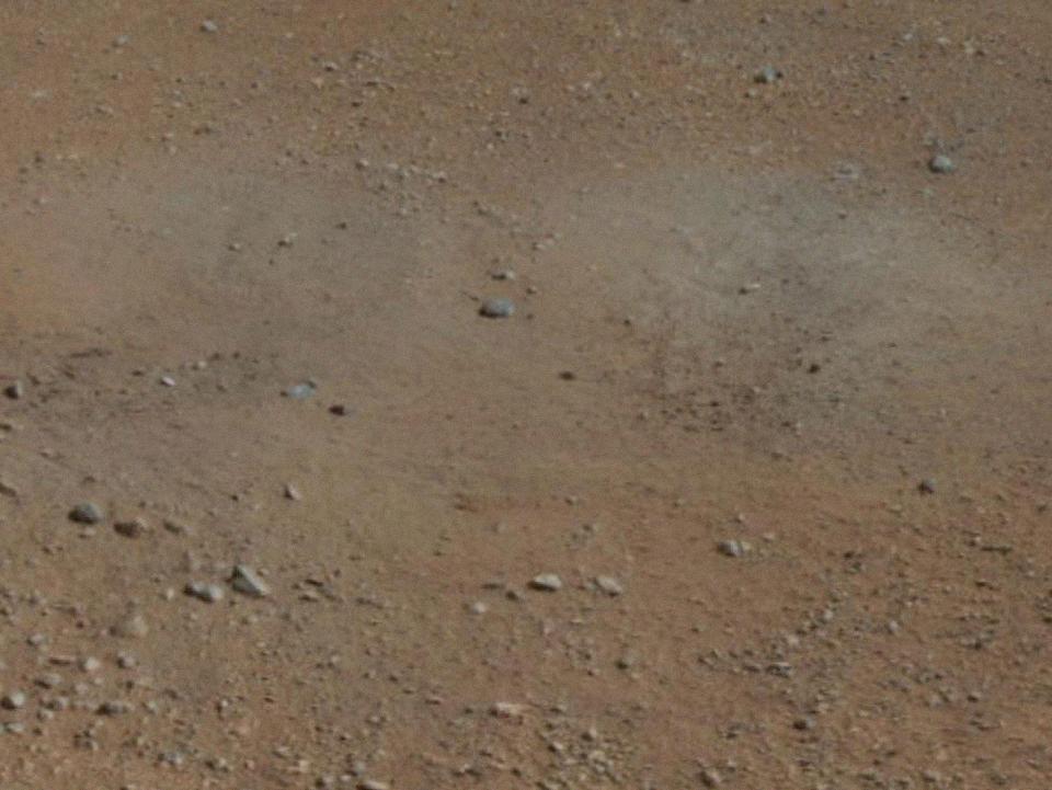 10 фотографий с марсохода Curiosity и поверхности Красной планеты. Изображение № 4.