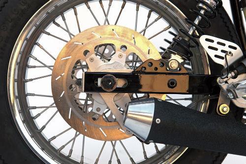 Мотоцикл Yamaha SR500 «The Venice» мастерской DEUS. Изображение № 4.