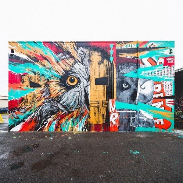 Гавайский фестиваль граффити Pow! Wow! в Instagram-фотографиях участников. Изображение № 2.