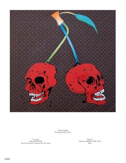 Уличный художник Kidult попал на обложку журнала Exit. Изображение № 4.