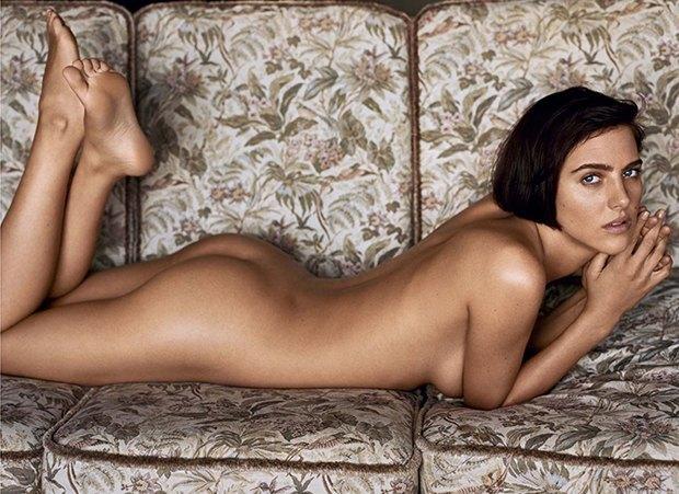 Модель Элиза Каммингз снялась обнажённой для журнала Lui Magazine. Изображение № 1.