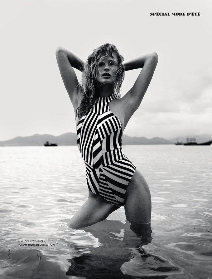 Модель Эдита Вилкевичуте снялась в фотосессии у фотографа Жана Велтерса. Изображение № 4.