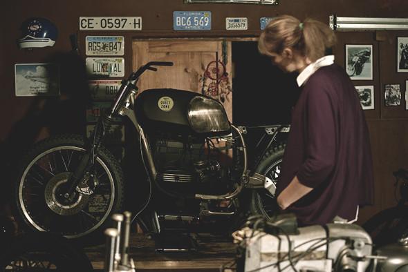 Новый проект испанской мастерской El Solitario —мотоцикл BMW R45. Изображение №1.