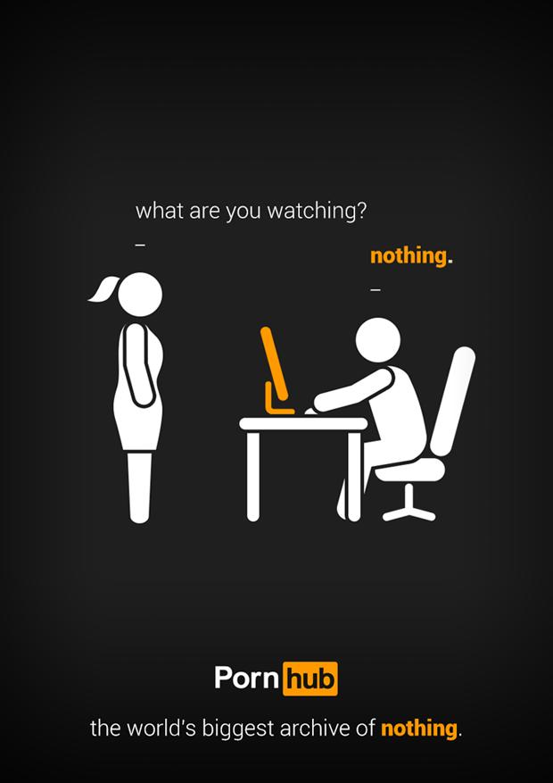Pornhub показали работы финалистов рекламного конкурса. Изображение № 1.