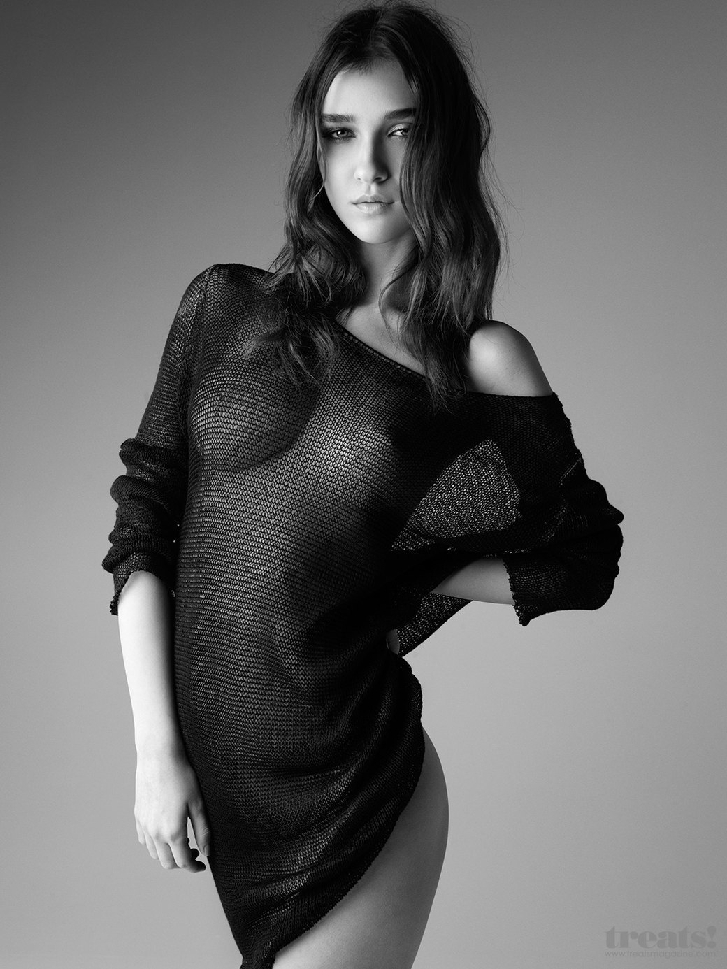Деннисон Бертрам сфотографировал польскую модель Паулу Бульчински для нового номера журнала Treats!. Изображение № 7.
