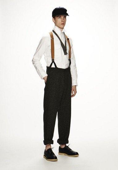 Марка Woolrich Woolen Mills опубликовала лукбук осенней коллекции одежды. Изображение № 7.