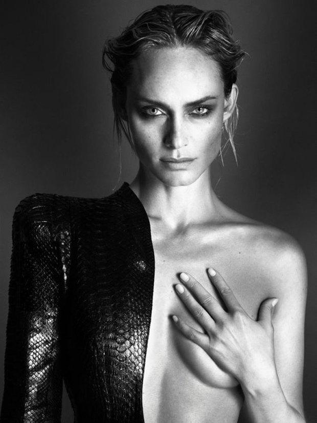 Аня Рубик, Наоми Кэмпбелл и другие известные модели разделись для Interview Magazine. Изображение № 6.