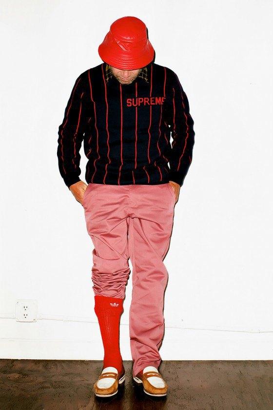 Терри Ричардсон снял Марка Гонсалеса в лукбуке марки Supreme. Изображение № 7.
