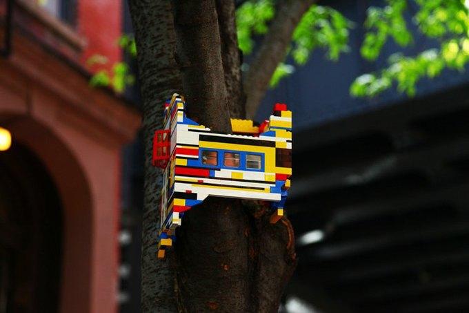 Уличные скульптуры, созданные неизвестными. Изображение № 18.