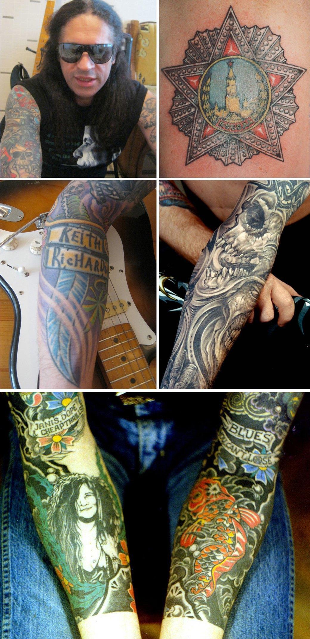 Чтобы помнили: Гид по стилям и истории советской татуировки. Изображение № 13.