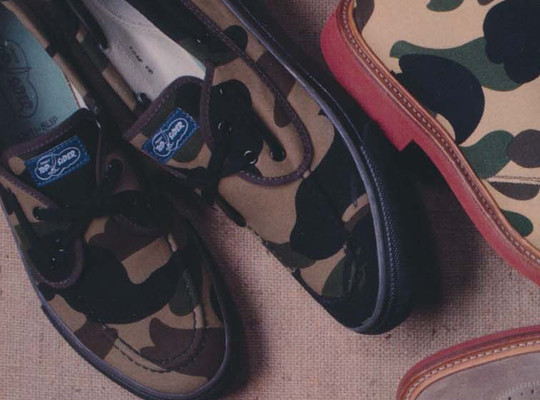 Коллекция обуви Марка МакНэйри, Sperry Top-Sider и марки Bape. Изображение № 5.