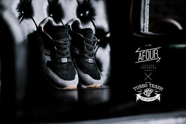 Марки Afour и TurboTrash выпустили совместную модель обуви. Изображение № 4.