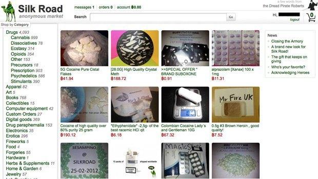 Спецслужбы начали арестовывать продавцов интернет-рынка Silk Road . Изображение № 1.