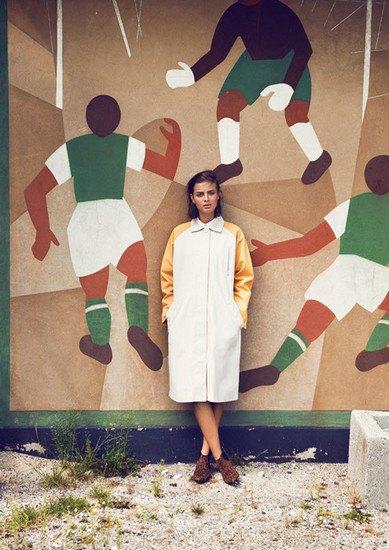 Датская марка Wood Wood опубликовала лукбук весенней коллекции одежды. Изображение № 13.
