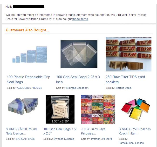 Интернет-магазин Amazon предлагает покупателям «набор драгдилера» . Изображение № 1.