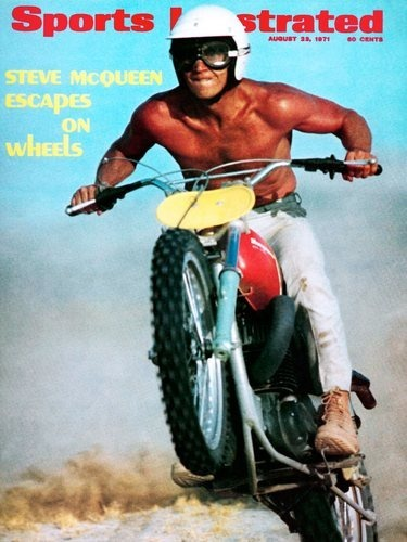 Мотоцикл Стива МакКуина выставили на аукцион. Изображение №7.
